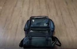 """Video về chiếc """"túi sinh tồn"""" gây sốt tại Hàn Quốc"""