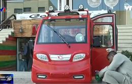 Xe tuk tuk chạy điện – Giải pháp giao thông ở Ai Cập