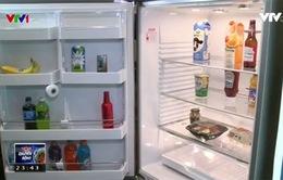 Độc đáo tủ lạnh gắn camera