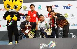 Tổng hợp ngày thi đấu thứ 4 của Đoàn Thể thao Việt Nam tại ASEAN Para Games 9: Thanh Tùng giành 2 HCV
