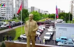 Khánh thành tượng Bác Hồ tại quê hương Lenin