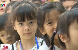 Hôm nay (1/8), nhiều trường tựu trường sớm cho học sinh