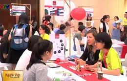 Sôi nổi Ngày hội giáo dục Đại học Pháp 2017