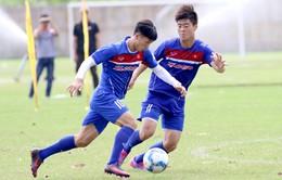 U23 Việt Nam sẵn sàng cho trận đấu gặp U20 Timor Leste