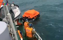 Một thuyền viên mất tích trên biển Bạch Long Vĩ