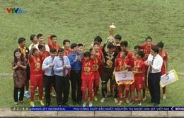 U13 Hoàng Anh Gia Lai vô địch giải bóng đá thiếu niên toàn quốc 2017