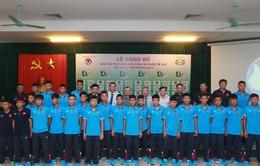 U15 Việt Nam đụng độ 3 đối thủ xứng tầm tại giải quốc tế
