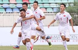 Giải bóng đá U18 Đông Nam Á: Vượt qua U18 Indonesia,  U18 Việt Nam dẫn đầu bảng B