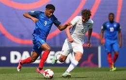 Kết quả, BXH Bảng E U20 Thế giới 2017: U20 Pháp toàn thắng, U20 New Zealand nhì bảng