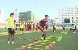 ĐT U20 Việt Nam bước vào buổi tập đầu tiên tại Nha Trang
