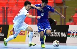 U20 futsal Việt Nam 5-4 U20 futsal Đài Bắc Trung Hoa: Chiến thắng quả cảm