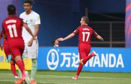 Kết quả, BXH Bảng F FIFA U20 Thế giới 2017: U20 Mỹ giữ vững vị trí đầu bảng