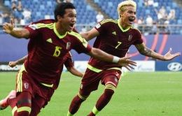 Bán kết FIFA U20 Thế giới 2017, U20 Uruguay 1-1 (pen 3-4) U20 Venezuela: Chiến thắng lịch sử