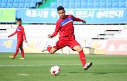 ĐT U20 Việt Nam hòa 1-1 trong trận giao hữu U20 Vanuatu