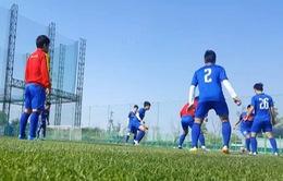 U20 Việt Nam chuẩn bị cho trận đấu cuối vòng bảng gặp U20 Honduras