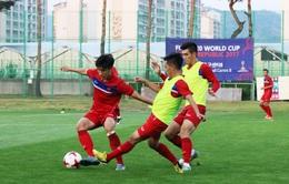 VIDEO: U20 Việt Nam đã có mặt tại Cheonan, tập sung ngay buổi đầu tiên