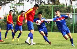 U20 Việt Nam tập bổ trợ sức mạnh chuẩn bị đối đầu với thử thách tại U20 World Cup