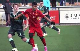 VIDEO: Những điều rút ra sau trận giao hữu đầu tiên của ĐT U20 Việt Nam tại Đức