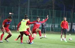 ĐT U20 Việt Nam tập kín, sẵn sàng cho ngày tranh tài tại FIFA U20 Thế giới 2017