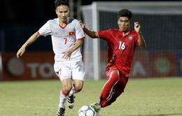 VIDEO: Tổng hợp diễn biến hiệp một U19 Việt Nam 0-2 U21 Việt Nam