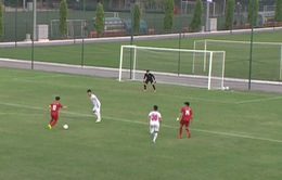 Tuấn Anh trở lại, U22 Việt Nam hòa không bàn thắng với CLB Viettel