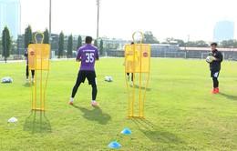 ĐT U23 Việt Nam tiếp tục tập luyện hướng tới giải U23 châu Á
