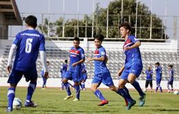 U23 Việt Nam tích cực rèn quân chờ gặp U23 Uzbekistan ở M-150 Cup 2017