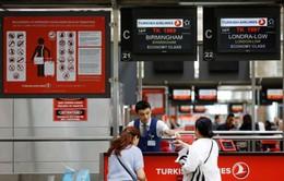 Anh bỏ lệnh cấm mang thiết bị điện tử lên một số chuyến bay của Thổ Nhĩ Kỳ