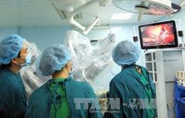 Robot phẫu thuật thành công ung thư gan