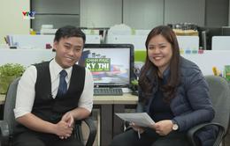 """19h30, ngày 13/3: Livestream giải đáp thắc mắc các môn học trong chương trình """"Chinh phục kỳ thi vào lớp 10"""" trên fanpage kênh VTV7"""