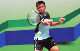Lý Hoàng Nam vô địch nội dung đôi nam quần vợt Trung Quốc F12 Futures