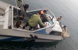 Nghệ An: 4 ngư dân gặp nạn trên biển Quỳnh Lưu