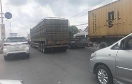 Thường xuyên kẹt xe ở cửa ngõ cao tốc TP.HCM - Long Thành - Dầu Giây