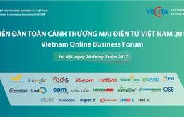 Diễn đàn Toàn cảnh thương mại điện tử Việt Nam 2017 lần đầu tổ chức với quy mô toàn quốc