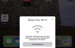 iOS 11 đã hỗ trợ tính năng chia sẻ mật khẩu Wi-Fi
