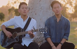 Mê mẩn với bản cover Em gái mưa của cặp sinh đôi người Việt - Thái