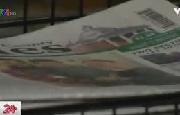 """Mua hàng trăm tờ báo để xóa đi... """"vết nhơ"""""""