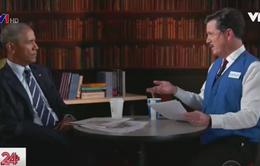 Phát sốt vì đoạn video phỏng vấn xin việc của ông Obama