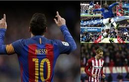 Những cột mốc mới của bóng đá châu Âu: Messi, Torres và Lukaku...