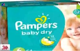 Hàn Quốc điều tra tã trẻ em Pampers nghi có chất độc hại