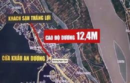 Hà Nội đề xuất hạ cốt đê sông Hồng