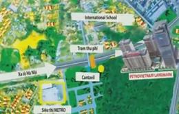 Phong tỏa hơn 15.000m2 đất tại Dự án PetroVietnam Landmark