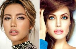 Đại diện Việt Nam ở Asia's Next Top Model như bản sao của Angelina Jolie