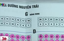 """Cho thuê ki-ốt miễn phí, chợ Thanh Xuân Bắc vẫn """"ế"""" người bán hàng rong"""