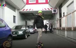 """Ván trượt in 3D siêu """"độc"""" được vận hành bằng smartphone"""