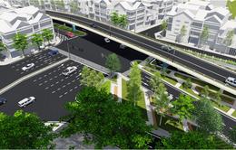 Hà Nội xây cầu vượt tại nút giao An Dương - đường Thanh Niên