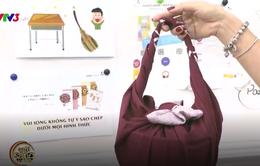 Hạn chế túi nilon, bạn có thể áp dụng cách gói đồ kiểu Nhật này