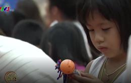 Café Sáng cuối tuần: Độc đáo búp bê do các em nhỏ tự thiết kế