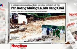 Hoang tàn và đổ nát sau trận lũ lịch sử 70 năm qua tại Yên Bái, Sơn La
