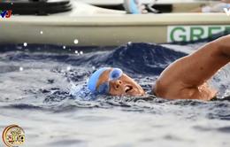 """""""Kình ngư"""" 64 tuổi bơi 177km từ Cuba sang Mỹ"""